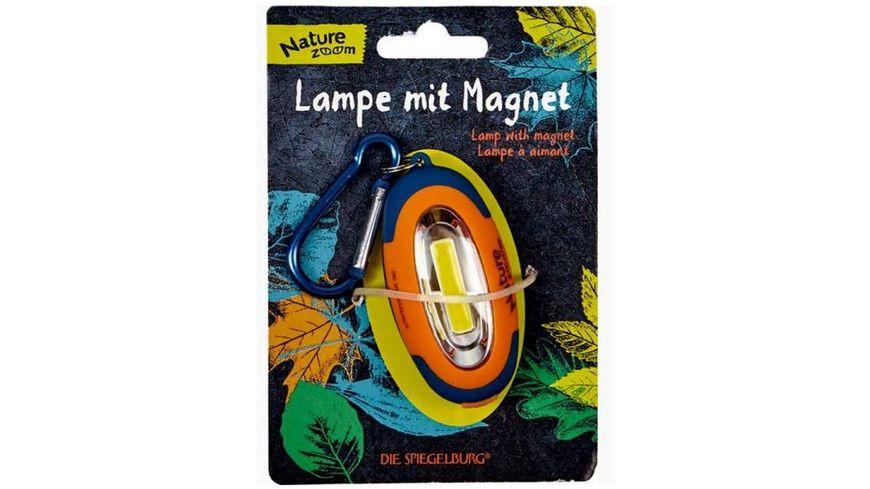 Die Spiegelburg Nature Zoom Lampe mit Magnet
