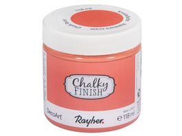 Rayher Chalky Finish Dose 118ml lachsrosa