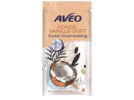 AVEO Kokos Vanille Duft Salz Duschpeeling