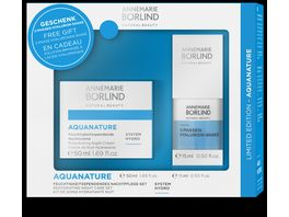 ANNEMARIE BOeRLIND AQUANATURE Nachtcreme Set