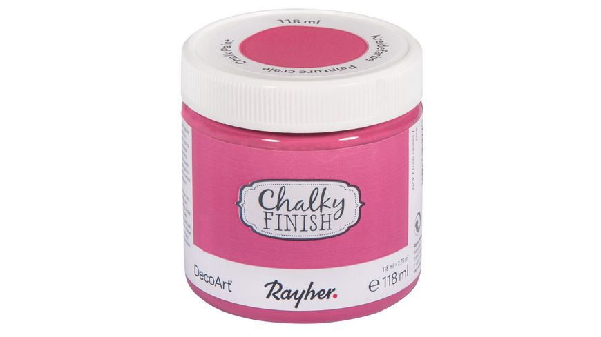 Rayher Chalky Finish Dose 118ml pink