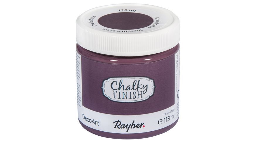 Rayher Chalky Finish Dose 118ml brombeere