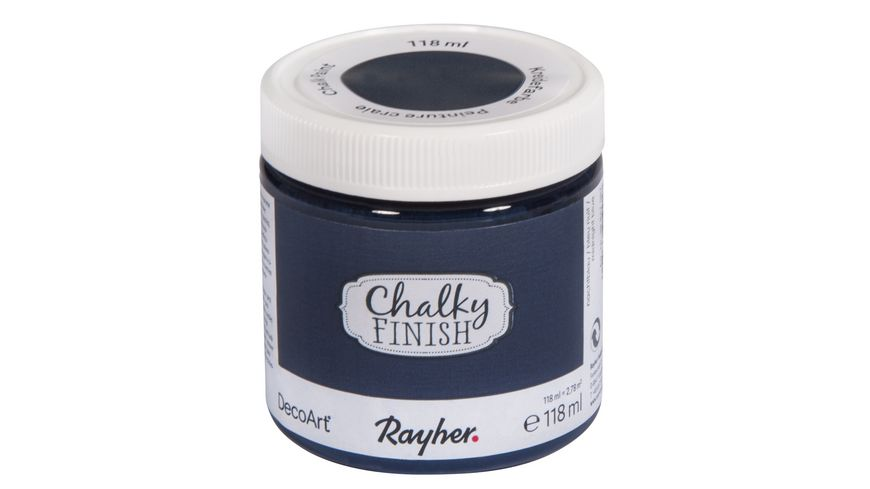 Rayher Chalky Finish Dose 118ml nachtblau