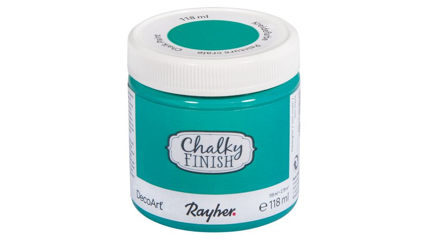 Rayher Chalky Finish Dose 118ml meergruen