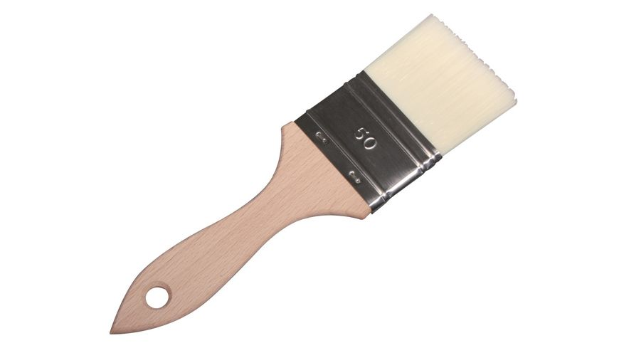 Rayher Synthetik Breitpinsel flach Gr 50