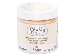 Rayher Chalky Finish Dose 118ml alabasterweiss