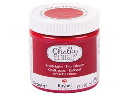 Rayher Chalky Finish Dose 118ml klassikrot