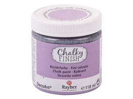 Rayher Chalky Finish Dose 118ml lavendel
