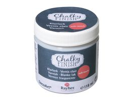 Rayher Chalky Finish Klarlack soft touch Dose 118ml