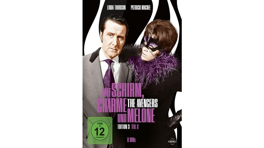 Mit Schirm Charme und Melone Edition 3 2 6 DVDs
