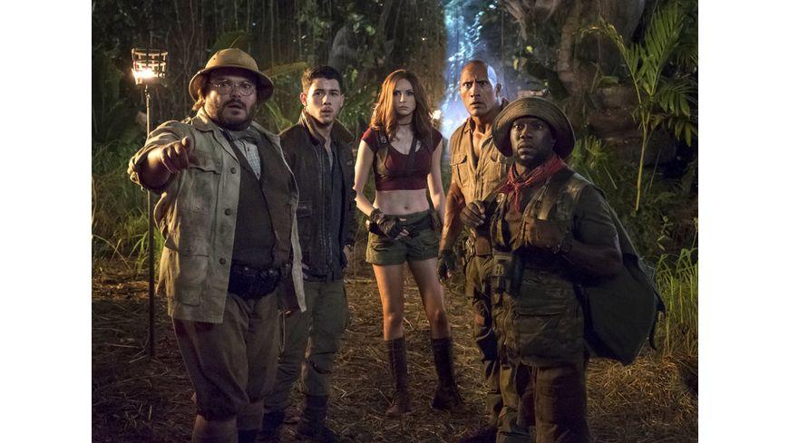 Jumanji Willkommen im Dschungel Blu ray 2D
