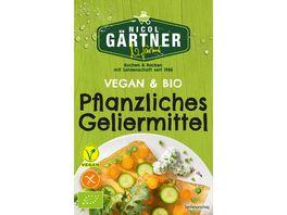 NICOL GAeRTNER BIO Pflanzliches Geliermittel