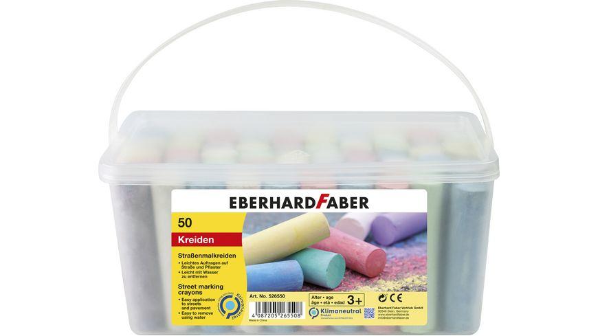 EBERHARD FABER Strassenmalkreide im 50er Eimer