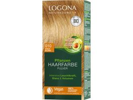 LOGONA Pflanzen Haarfarbe 010 Goldblond