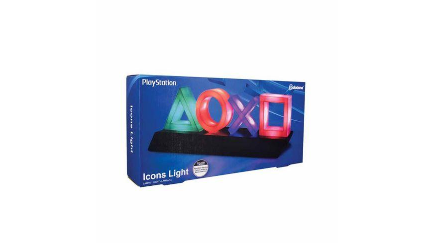 Playstation Logo Icons Leuchte