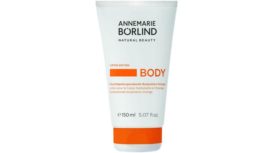 ANNEMARIE BOeRLIND BODY ORANGE Feuchtigkeitsspendende Bodylotion Orange