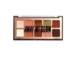 NYX PROFESSIONAL MAKEUP Lidschatten Away We Glow Shadow Palette