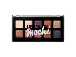 NYX PROFESSIONAL MAKEUP Lidschattenpalette Love You So Mochi Eyeshadow Palette sleek and chic