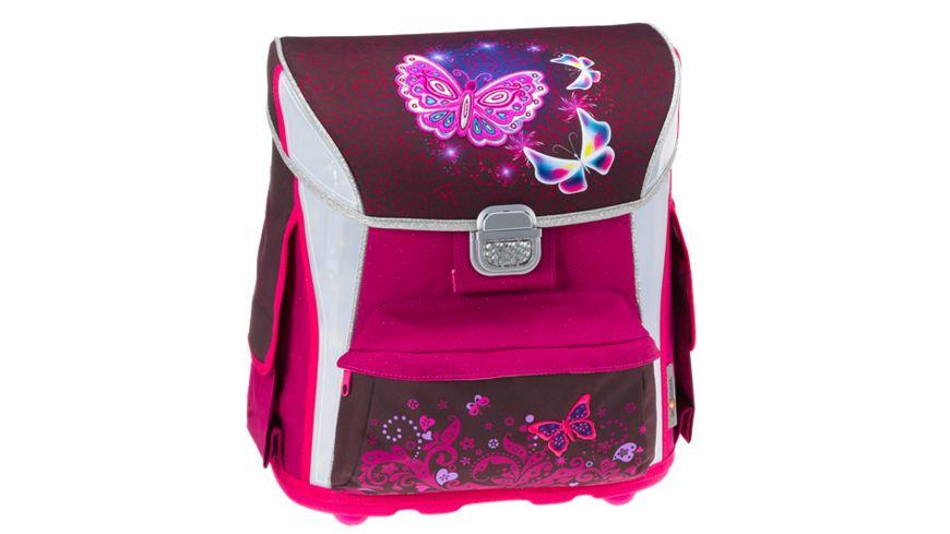 in school Schulranzen Set 4tlg Butterfly