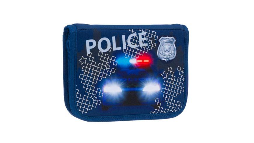 in school Schulranzen Set 4tlg Police