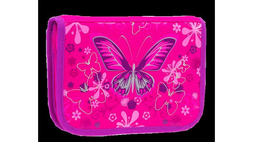 in school Schulranzen Set 4tlg Schmetterling
