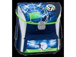 in school Schulranzen Set 4tlg Soccer