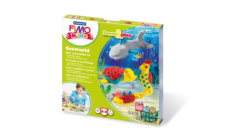 STAEDTLER FIMO KIDS FORM PLAY SEAWORLD