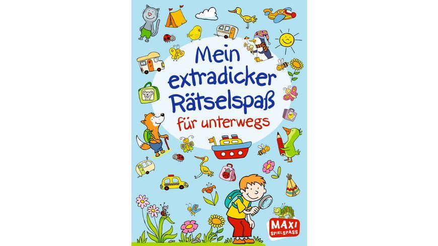 Buch Ellermann Mein extradicker Raetselspass fuer unterwegs