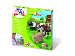 STAEDTLER FIMO KIDS FORM PLAY FARM