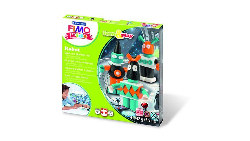 STAEDTLER FIMO KIDS FORM PLAY ROBOT