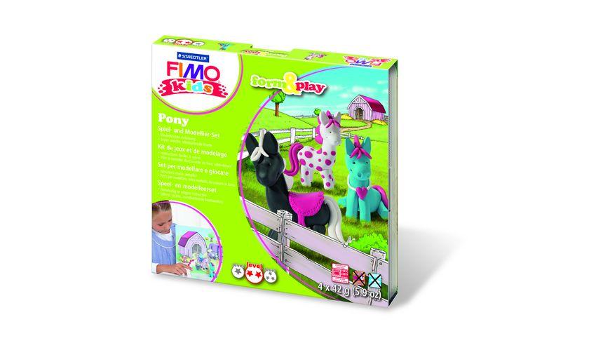 FIMO KIDS FORM PLAY PONY 4 x 42 g