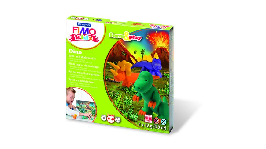 FIMO KIDS FORM PLAY DINO 4 x 42 g