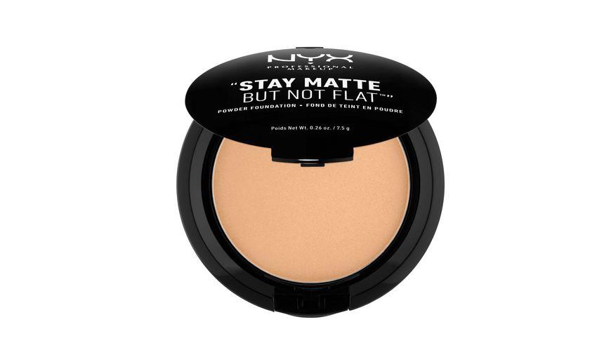 NYX PROFESSIONAL MAKEUP Make up Stay Matte But Not Flat Powder Foundation