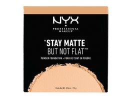 NYX PROFESSIONAL MAKEUP Make up Stay Matte But Not Flat Powder Foundation