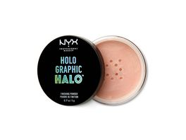 NYX PROFESSIONAL MAKEUP Fixierpuder Holographic Halo Finishing Powder