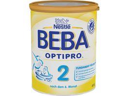 Nestle BEBA Folgemilch OPTIPRO 2
