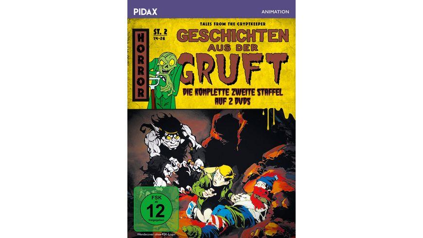 Geschichten aus der Gruft Staffel 2 Tales from the Cryptkeeper Weitere 13 Folgen der Grusel Zeichentrickserie Pidax Animation 2 DVDs