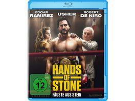 Hands of Stone Faeuste aus Stein