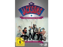 Die Jacksons Ein Amerikanischer Traum Der komplette Zweiteiler 2 DVDs
