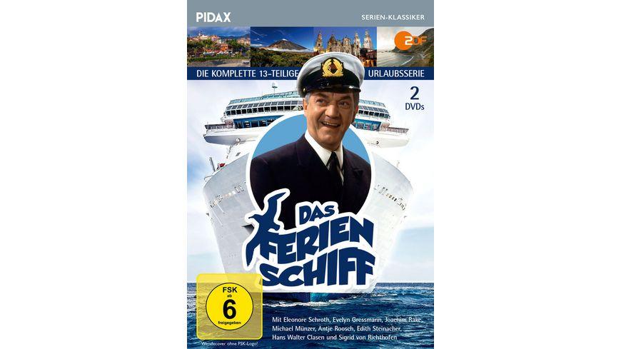 Das Ferienschiff Die komplette 13 teilige Urlaubsserie Pidax Serien Klassiker 2 DVDs