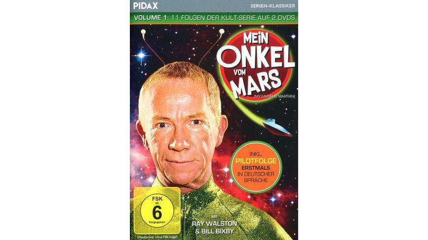 Mein Onkel vom Mars Vol 1 Elf Folgen der Kult Serie inkl Pilotfolge erstmals in deutscher Sprache Pidax Serien Klassiker 2 DVDs