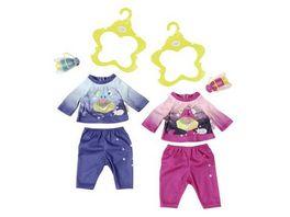Zapf Creation Baby born Play Fun Nachtlicht Outfit sortiert Gr 43 cm