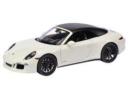 Schuco Edition 1 18 Porsche 911 Carrera GTS Cabriolet weiss