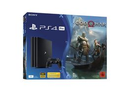 PS4 Pro Konsole 1 TB mit God Of War