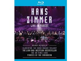 Live In Prague Blu Ray