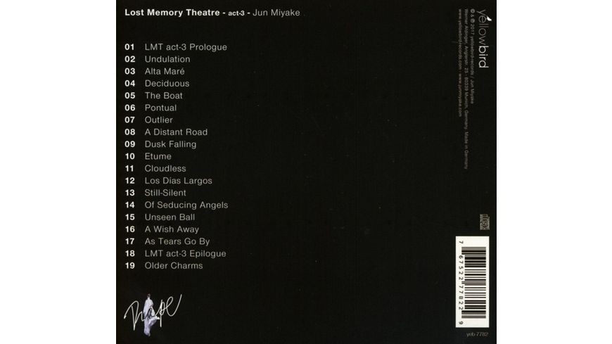 Lost Memory Theatre Act 3