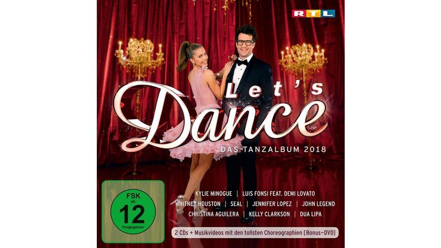 Let s Dance Das Tanzalbum 2018 Inkl Bonus DVD