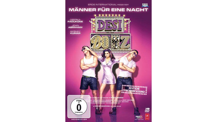 Maenner fuer eine Nacht Desi Boyz Deutsche Fassung inkl Bonus DVD 2 DVDs