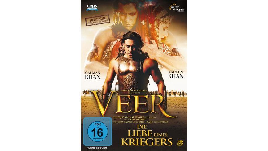 Die Liebe eines Kriegers Veer Deutsche Fassung inkl Bonus DVD 2 DVDs