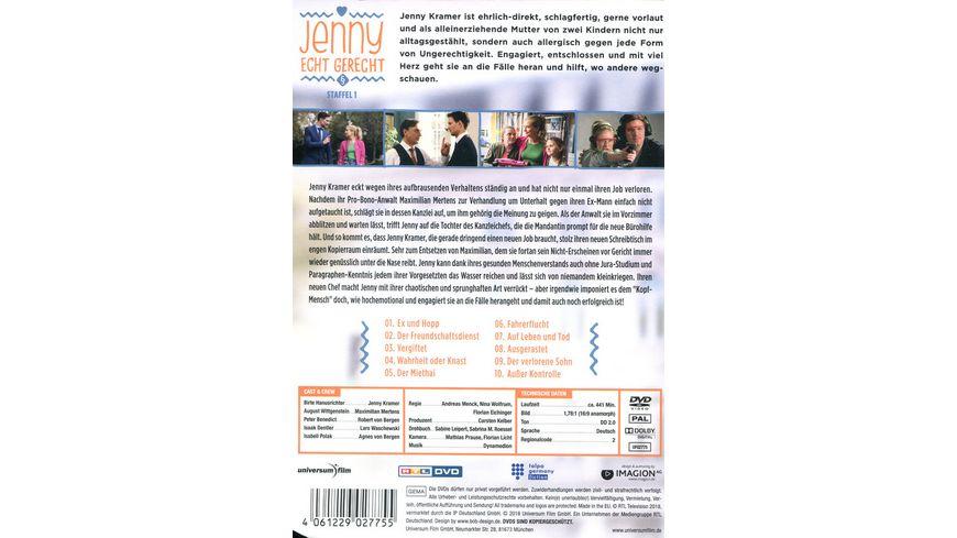 Jenny Echt gerecht Staffel 1 2 DVDs